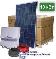 """Сонячна електростанція - 10 кВт """"Медіум"""", на СБ від JA Solar, фото 1"""