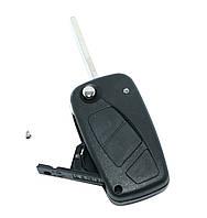 Корпус выкидного ключа Fiat Ducato,PUNTO,Doblo,Bravo 3 кнопки, лезо SIP22, фото 1