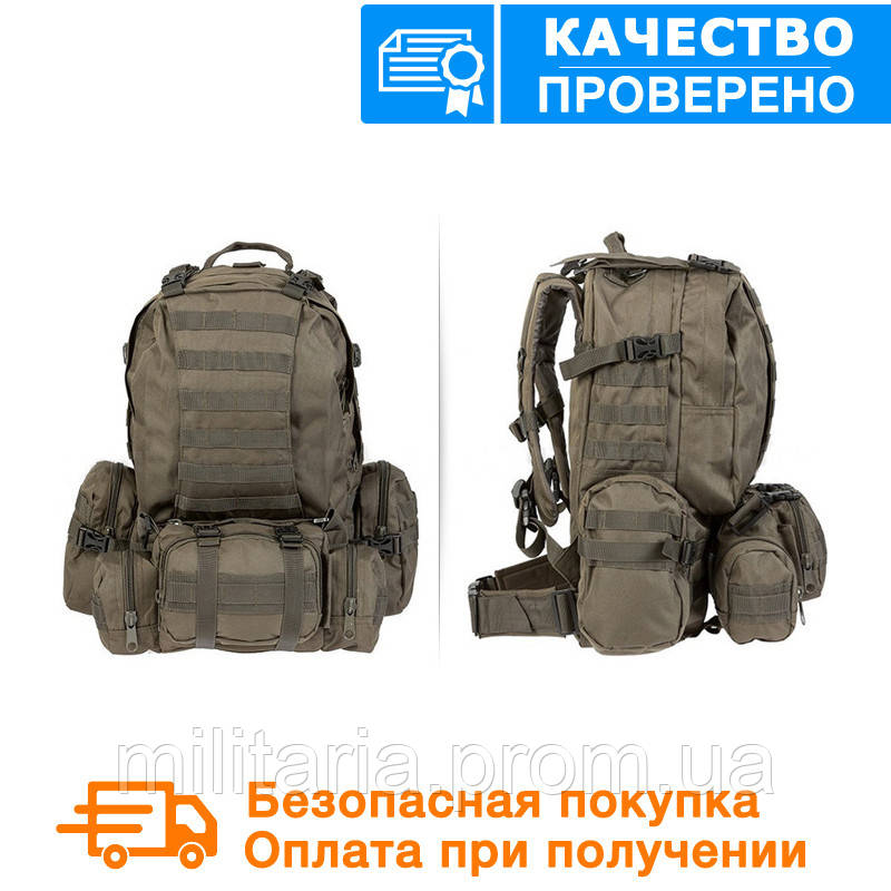 Тактический рюкзак Mil-tec с разгрузкой DEFENSE PACK Assembly 36 литров Олива (14045001)