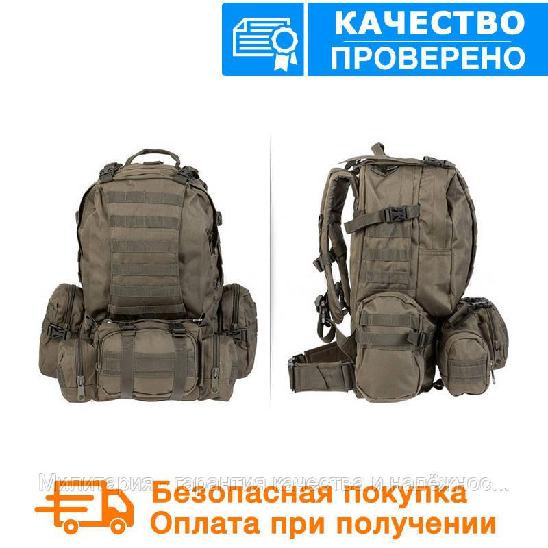 Тактичний рюкзак Mil-tec з розвантаженням DEFENSE PACK Assembly 36 літрів Олива (14045001)