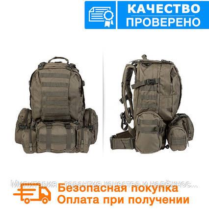 Тактичний рюкзак Mil-tec з розвантаженням DEFENSE PACK Assembly 36 літрів Олива (14045001), фото 2