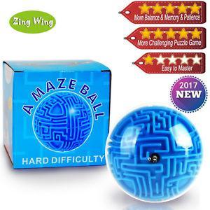 Головоломка 3D лабиринт шар (hard)