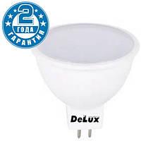 Светодиодная лампа DELUX MR16A 5Вт 4100K 12В GU5.3 (90008350)