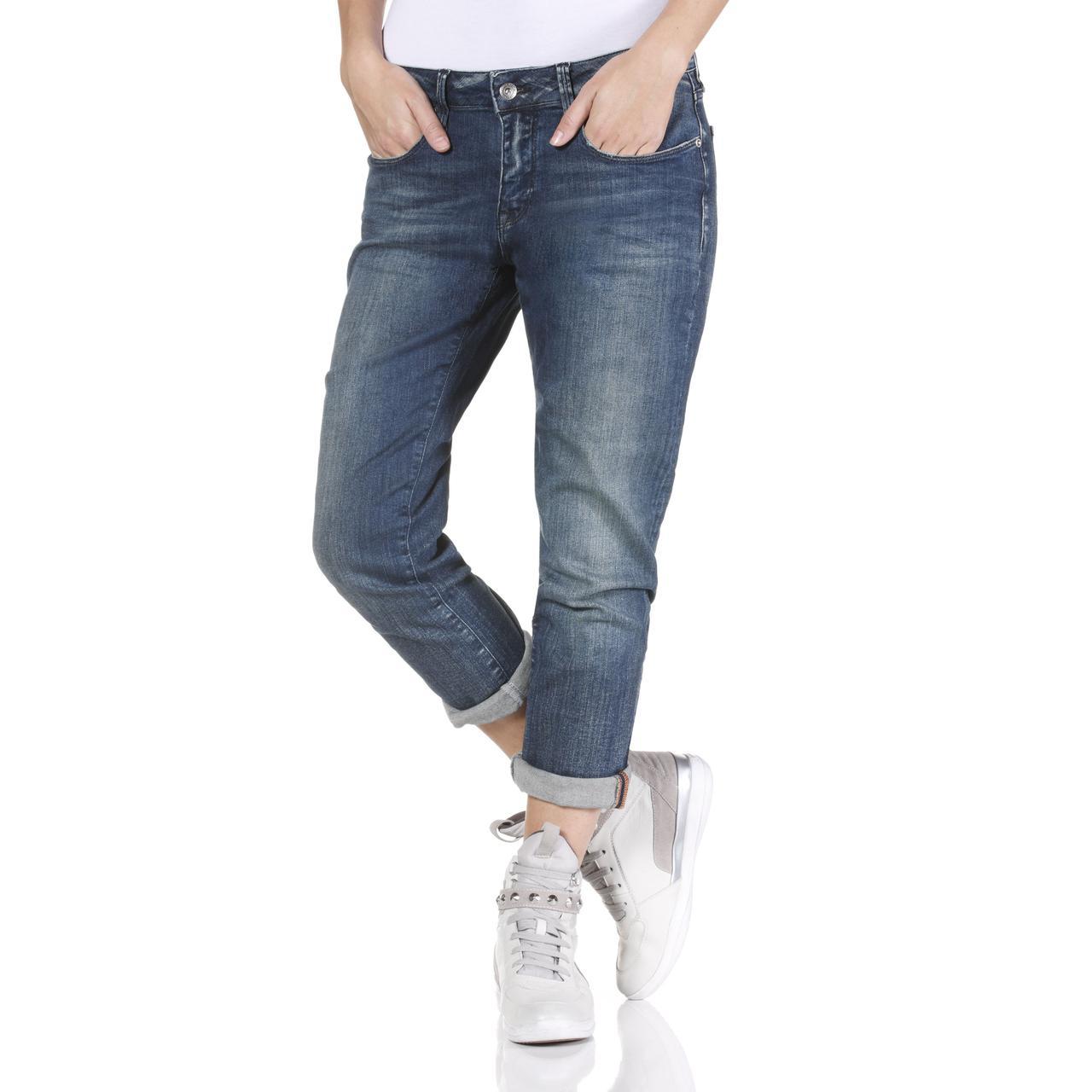 Женские модные джинсы Geox W3432D MEDIUM BLUE