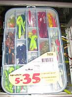 Коробка для рыбалки 35 ячеек, фото 1