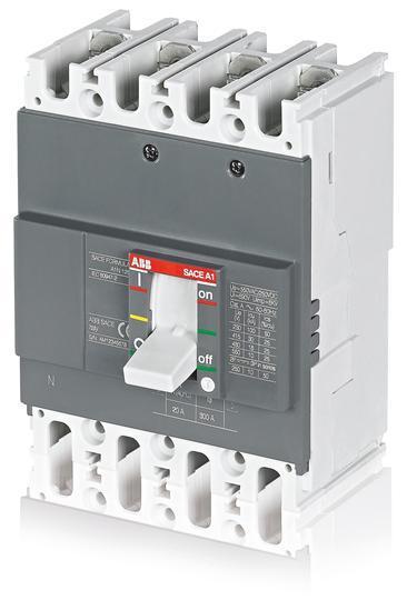 Автоматический выключатель ABB Formula A1N 125 TMF 40-400 4p F F, 1SDA066721R1