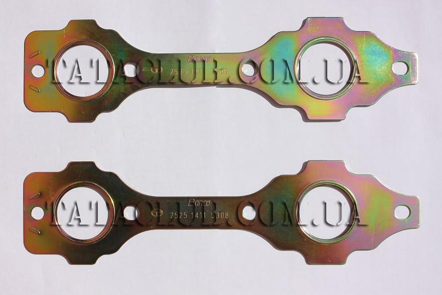 Прокладка выпускного коллектора км-т (613 EII, 613 EIII)  TATA Motors / GASKET (EXHAUST MANIFOLD TO CYL. HEAD)