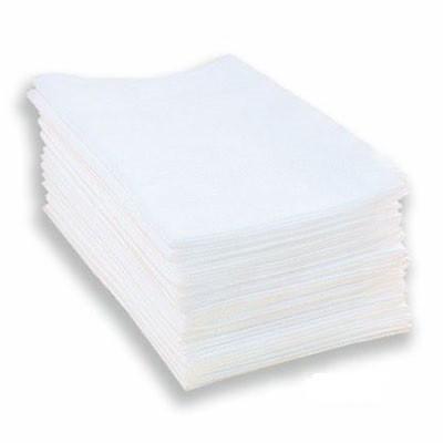 Timpa полотенце одноразовое нарезное  белое 25*40 см. (50 шт.)