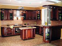 элитная кухня с барной стойкой фото 85