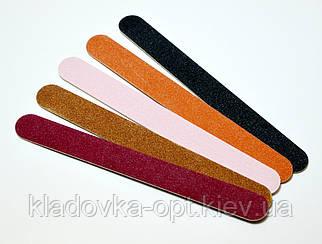 Набор целлюлозных пилок Salon Professional на деревянной основе широкая 5 шт