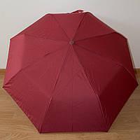 Классический однотонный женский зонт автомат 4404/3