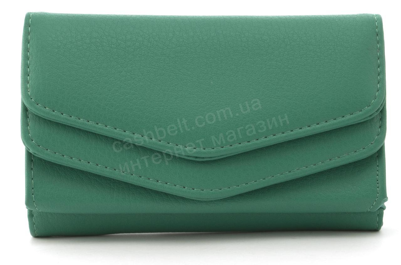 Женский компактный многофункциональный вместительный кошелек SARALYN art. Y-2033 зеленый