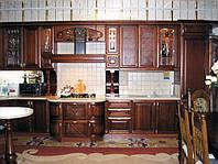 кухня элитная дерево фото 87