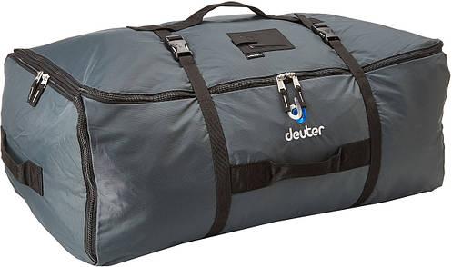 Большая 90+30 л. прочная транспортная сумка DEUTER CARGO BAG EXP, 39550 4000 серая