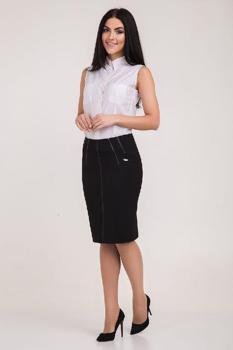 Черная юбка Индира, фото 1
