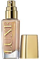 Ухаживающий тональный крем для лица Luxe, тон - Natural Glamour, природный бежевый, Avon, SPF 10, 42462