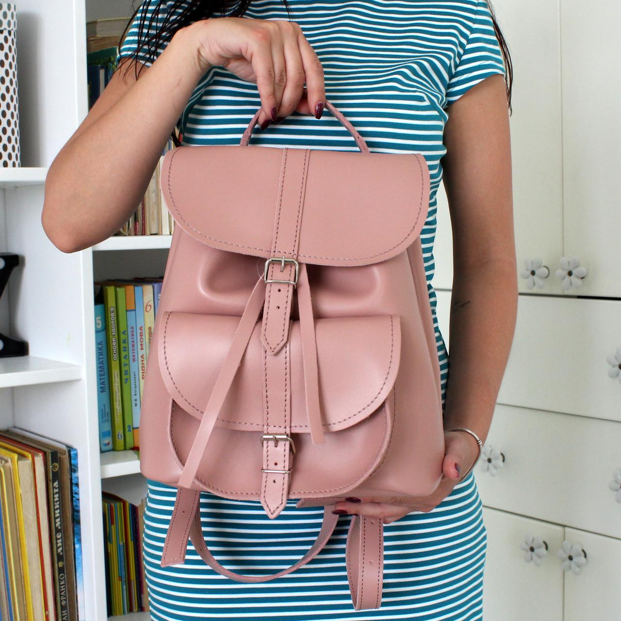 0e491d190d12 Женский кожаный рюкзак