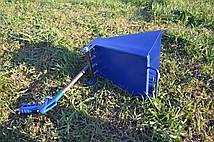 Хоппер ковш. Штукатурный ковш Хоппер. Штукатурная лопата Хопер.(Синий)