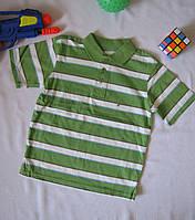 Футболка поло Wonder Kids оригинал рост 104 см зеленая 07121, фото 1