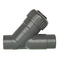Обратный клапан 45° PVC D.50 мм
