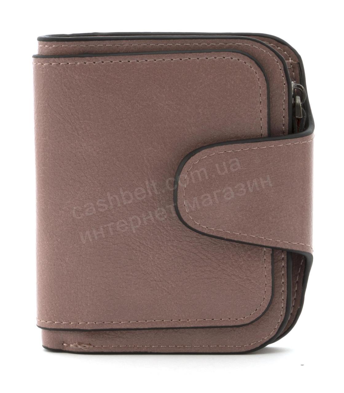 Женский компактный многофункциональный вместительный кошелек FUERDANNIart. 845сиреневый
