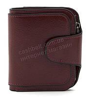 Женский компактный многофункциональный вместительный кошелек FUERDANNIart. 845вишневый, фото 1