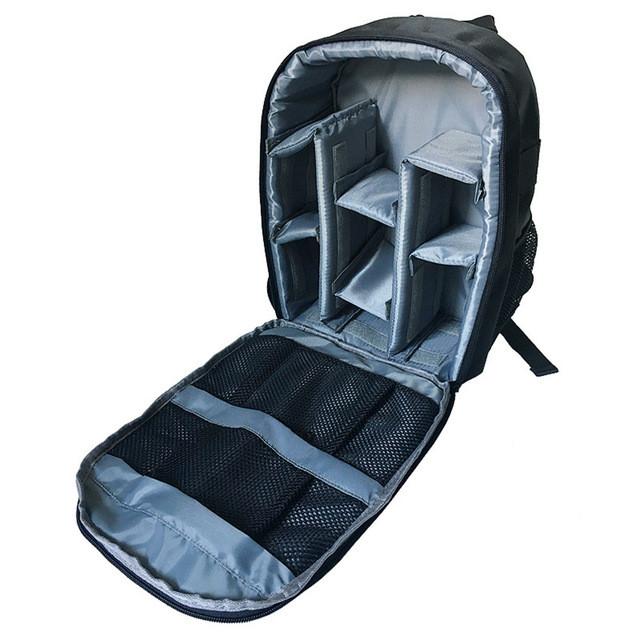 Рюкзак для фотоаппарата, сумка для фотоаппарата зеркального Gray