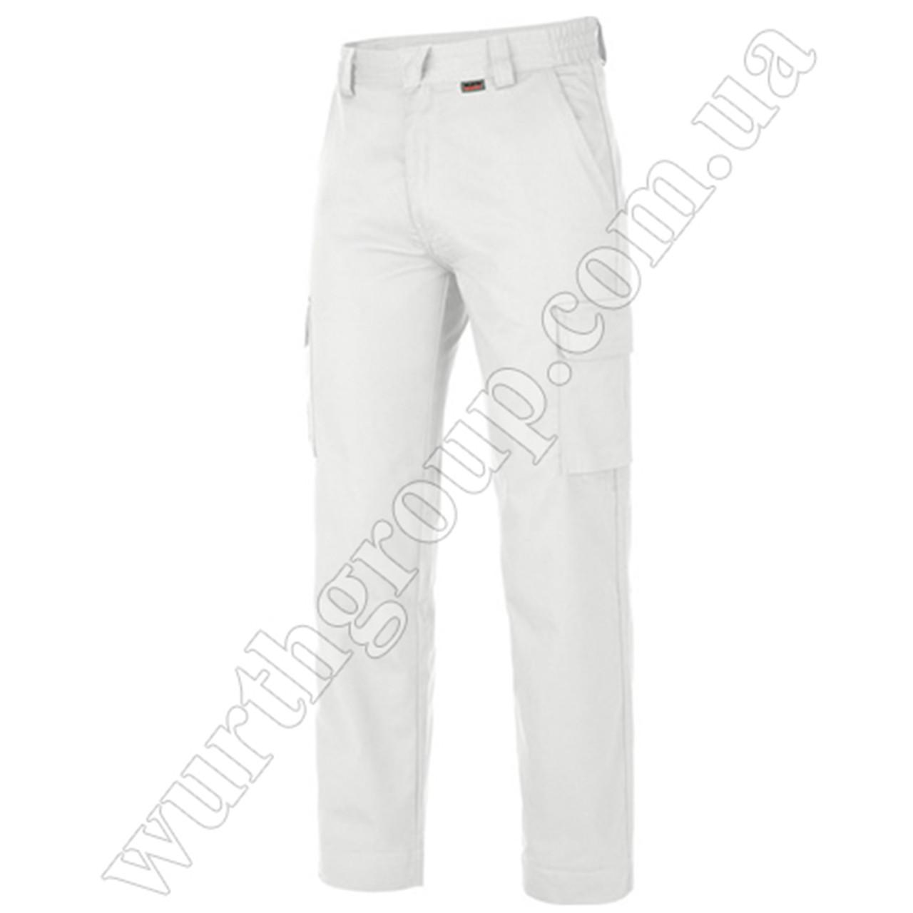 Брюки Modyf Classic Trouser белые Wurth