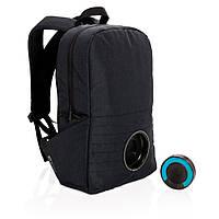 """XD Design party musik. Городской рюкзак для ноутбука 15"""" со съёмной Bluetooth колонкой и Led подсветкой."""