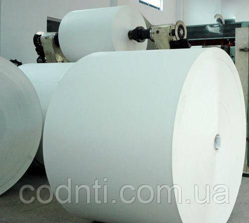 Картон для упаковки сувенирной продукции, размотка больших рулонов на небольшие рулоны