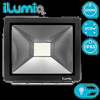 Светодиодный прожектор Ilumia 100Вт, 4000К (нейтральный белый), 10000Лм (088)