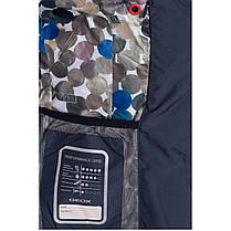 Демисезонная женская куртка Geox W5221G DARK NAVY, фото 3