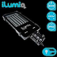 Светодиодный консольный светильник Ilumia 60Вт, 4000К (нейтральный белый), 7000Лм, установка 5-8м (077)