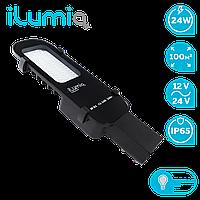 Уличный светильник,светодиодный Ilumia 24Вт, низковольтный 12-24В, 4000К (нейтральный белый), 330