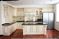 кухня белая элит массив дуба или ясеня фото 93