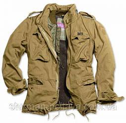 Куртка мужская зимняя   М65  REGIMENT Vintage SURPLUS  цвет  койот размер  Германия