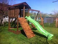 Детская деревянная площадка dp-003
