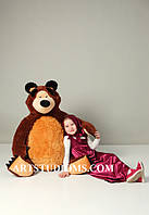 Большая мягкая игрушка из Мультика Маша и Медведь - Мишка 150 см.