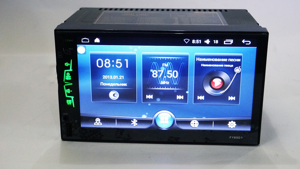 Автомагнитола 2DIN Abdroid GPS Wifi FY6501