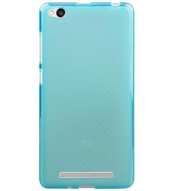 Чехол бампер для Xiaomi Redmi 3 силиконовый. Голубой