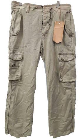 Светлые мужские летние брюки-карго Akademiks , фото 2