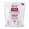 Корм Брит Кеа Юниор Brit Care Junior Large Breed Lamb Rice для щенков крупных пород ягненок рис 1 кг