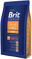 Корм для собак Brit Premium Sport (Брит премиум спорт) для активных собак всех пород 15  кг