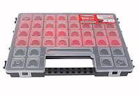 Органайзер пластиковый Haisser Tandem C400 с регулируемыми секциями 15 отделений 65558 (90005)