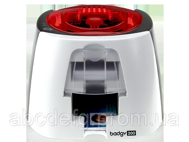 Принтер для пластиковых карт Evolis Badgy200 USB