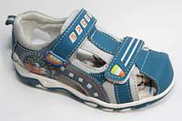 Яркие, очень легкие и удобные босоножки, сандалии мальчику р. 26-31 ТМ EEB.B, фото 1