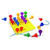 Набор для изучения цвета и счета Радужные болтики Learning resources, фото 4