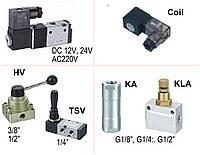 Соленоидные клапаны (электромагнитные), обратные и с ручным управлением
