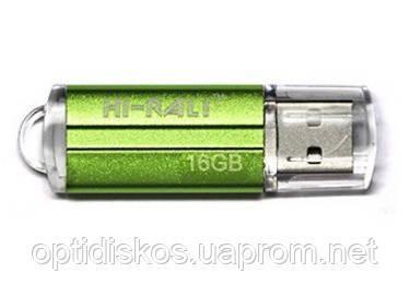 Флешка Hi-Rali 16GB Corsair series, зеленая