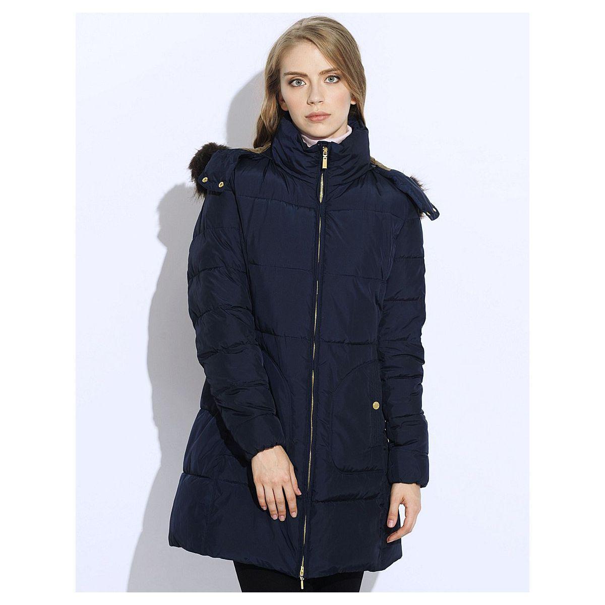 ca12ad719 Демисезонная женская куртка Geox W5428D DARK NAVY - Магазин распродаж  SuperStock.com.ua в